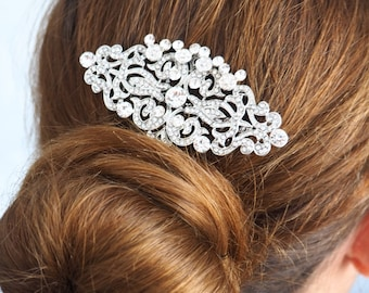 Hidden Mickey Rhinestone Bridal Hair Comb perfect for Disney Wedding
