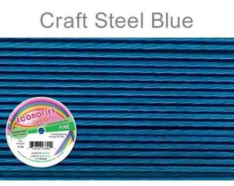Econoflex Fine Steel Blue Wire .014 Diameter  - 30Ft Wholesale Price (11351)/1
