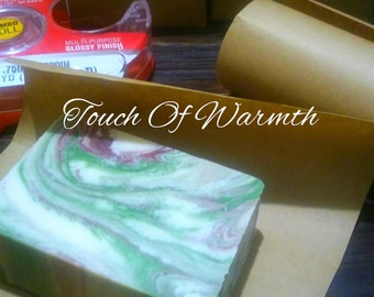 A Touch of Warmth Atrisan Soap 4oz.