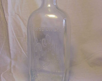 1920s Rochester Germicide Co. Rochester, N.Y. , Cork Top Embalming Fluid Poison Bottle