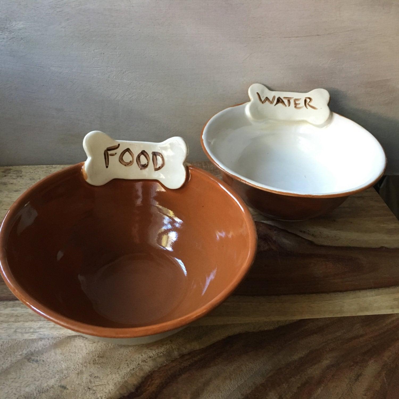 Dog Bowl Set Ceramic Pet Bowls Dog Food Bowl Dog Water - photo#30