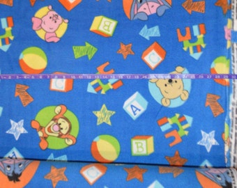 Springs Creative. Winnie the Pooh FLEECE - BTY - Choose your cut of fabric