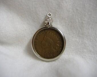 1905 Indian Cent Pendant