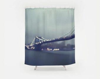 Brooklyn Bridge Photography Shower Curtain