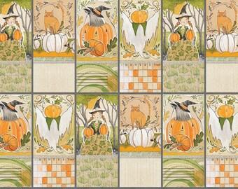 Best Day Ever, I Love Pumpkins Panel, Cori Dantini, Blend Fabric