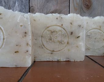 Luscious Lavender Workhorse Shampoo Bar Soap--All Natural Shampoo, Handmade Shampoo, Barely Scented, Hot Process, Vegan, Lavender