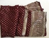 Vintage Silk Sari Fabric