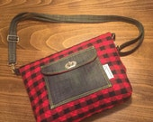 Jump into the fold with the Fold over day purse.!!
