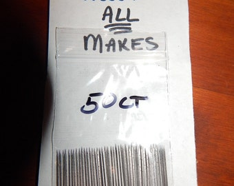 ALL MAKES- Felting Machine Needles-50 Ct. X-tra fine to Coarse-Triangle -5 gauges available