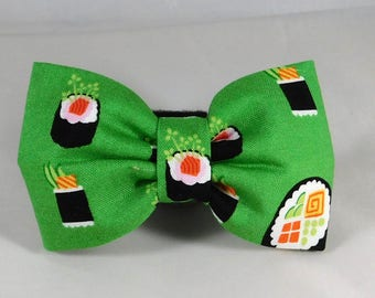 Dog Flower, Dog Bow Tie, Cat Flower, Cat Bow Tie - Sushi