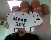 Personalized We Bare Bears ornament