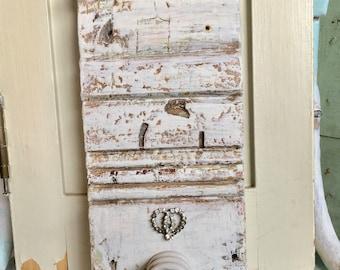 Antique Architectural Salvage Plinth Block /  Vintage Insulator Hook / Vintage Soda Pop fountain topper / Wall Hook