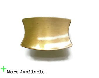 Vintage Mid-Century Modern Drawer Knobs - Rose Gold - Pale Copper -  Concave Atomic - More Available