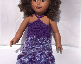 Mermaid Outfit, 18 inch doll