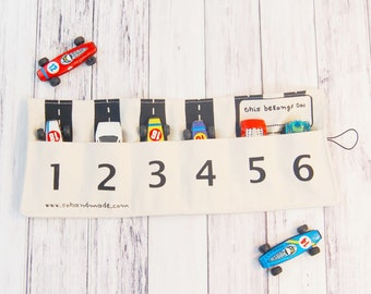 Natural Toy Car Storage, Gifts for kids, Christmas gifts for kids, gifts for boys, small gifts for boys, gifts for brothers, travel toy