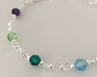 Custom Made Mother's or Grandmother's Bracelet