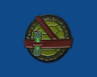 Shell Shock Enamel Pin