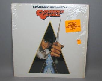 Clockwork Orange Sound Track , Warner Brothers B52573 LP , no plain white inner sleeve for this .