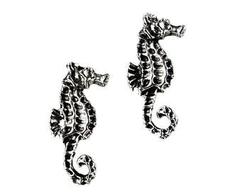 Seahorse Cufflinks - Gifts for Men - Anniversary Gift - Handmade - Gift Box Included