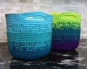 Crochet Pattern ~ Cutie Utility Basket ~ Crochet Pattern