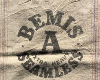 Bemis A Extra Heavy Seamless D4 vintage sack  1113161