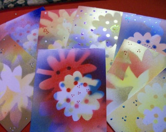 Hand made Flower Cards