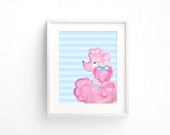 Poodle Print 8x10 ~ Printable Download