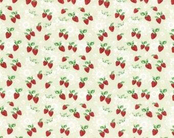 High Tea - Strawberry Green by Jera Brandvig from Lecien