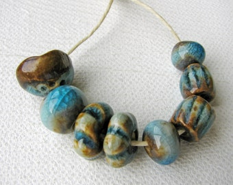 Forest & Stream Beads Stoneware Clay (8)
