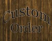 Custom order for Raenya