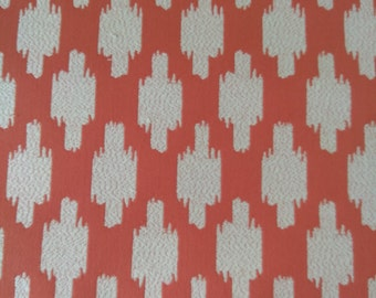 Pair = 2- 48w x 83L  panels Thibaut Troy in Coral