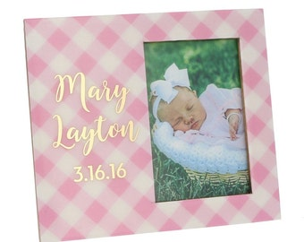 Personalized Baby Frame | Newborn Frame | Baby Gift| Baby Shower|