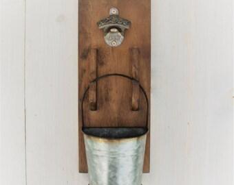 Bottle Openers - Custom Beer Opener - Wall Beer Opener - Beer Bottle Opener - Farmhouse Decor - Wall Mount Opener - Wooden Bottle Opener