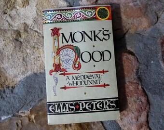 Vintage Monk's-hood A Mediaeval Whodunnit Ellis Peters 1986 Paperback