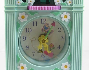1991 Vintage Polly Pocket Funtime Clock Bluebird Toys (39751)
