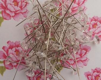 Corsage Pins Diamonds 60 pcs