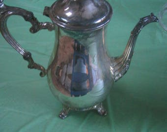 Vintage WM Roger 801 Silver Plated Coffee Pot