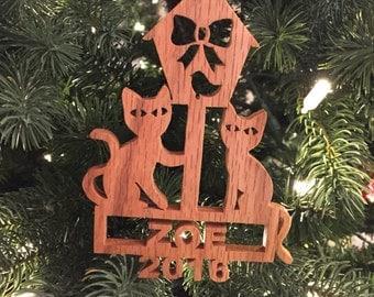 Cat Ornament - Pet Ornament - Cat Lady - Cat Lover Gift - Cat Decorations - Family Ornament - Cat Love - Ornament Cat - Family Cat