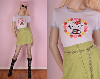 90s Deadstock Hello Kitty Tshirt/ Medium/ 1990s/ Sanrio