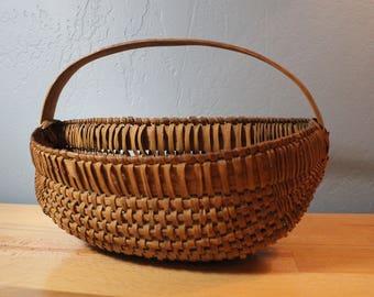 Woven Wall Basket - Half basket - Rustic Decor