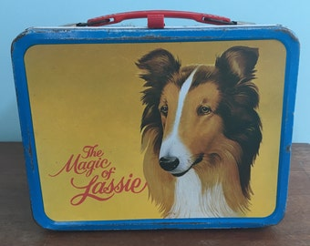 Vintage Lassie Lunch Box