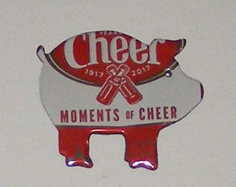 Pig Magnet - Cheerwine - Moments of Cheer - 100th Anniversary Soda Can