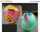 ON SALE Twisted Dichroic Bead Lampwork Tutorial, 2 different ways