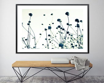 Minimalist Large wall art print, giclee print nature poster up to 40x60, Modern art  office decor Black and White print by Duealberi
