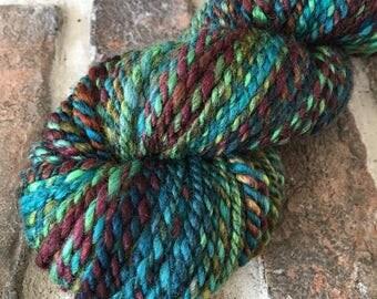 Fracking - Handspun yarn