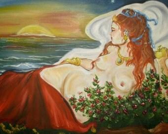 Aphrodite Rising signed 8x10 print
