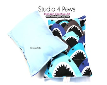 Guinea Pig Luxury Large Pillows - (Sharks)