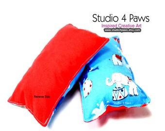 Guinea Pig Luxury Large Pillows - (Circus Elephants)