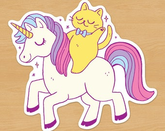 Unicorn Cat Sticker