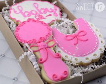 Baby Girl Sugar Cookies Box Set